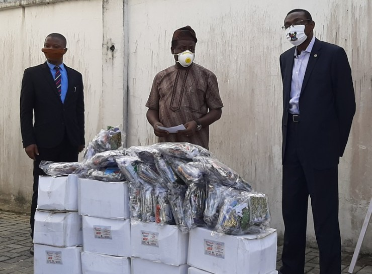 ATCON donates medical supplies to Lagos health ministry as lockdown eases