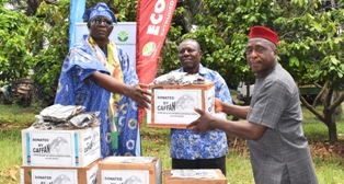 CAFFAN donates COVID-19 palliatives to state governments