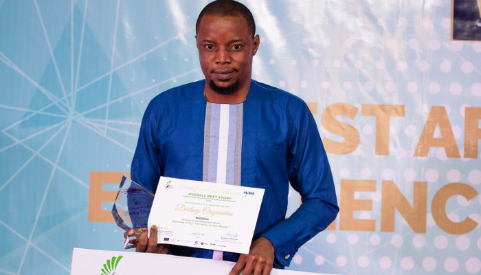 Nigeria's Onyemihia shines at Pan African Re-insurance journalism awards