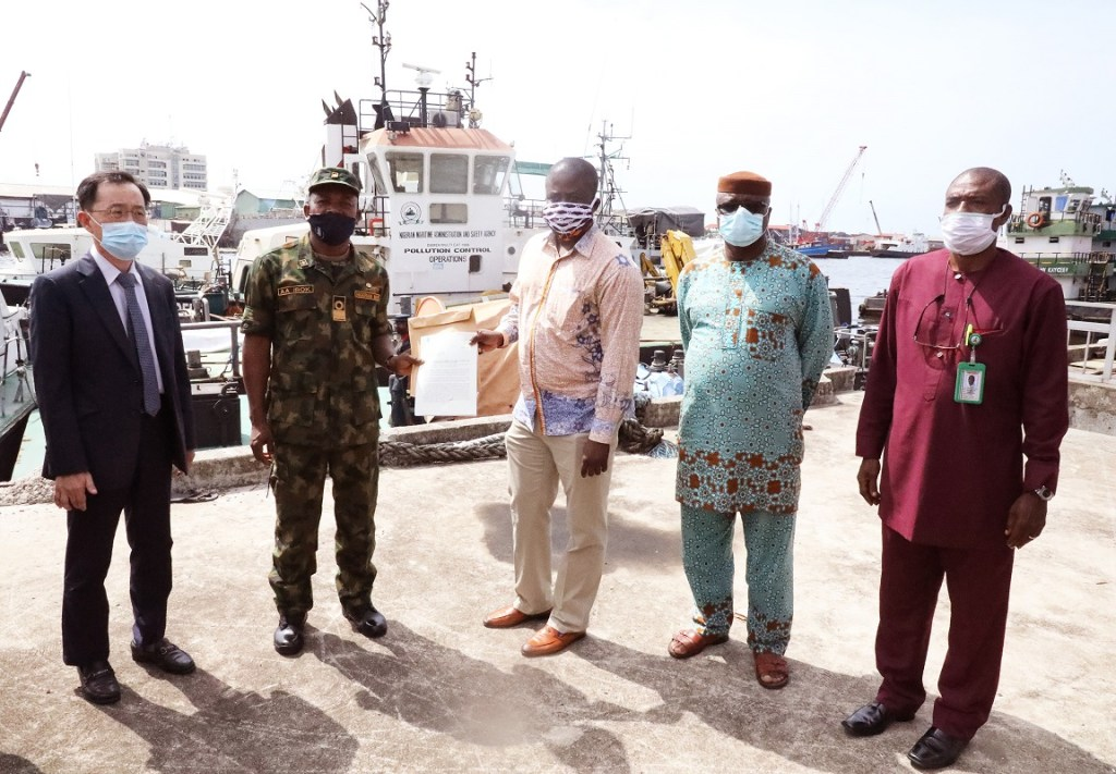 Nigeria hands over fishing vessel suspected of piracy to Ghana