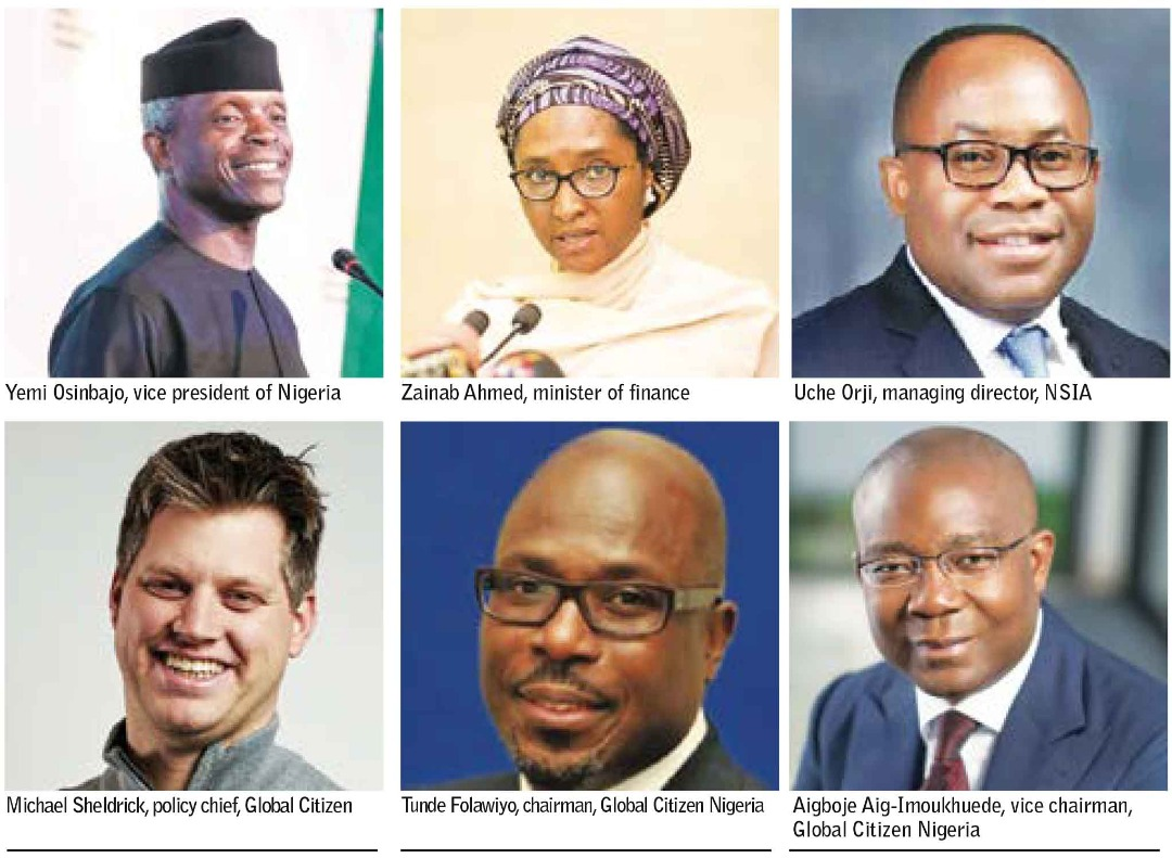 """Beyond donations Global Citizen, NSIA: Solidarity Support Fund for a """"new normal"""""""