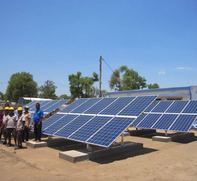 off-grid power plants