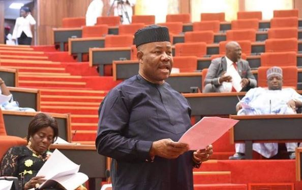 Businessamlive - Akpabio in senate, says he didn't collect N500m NDDC projects