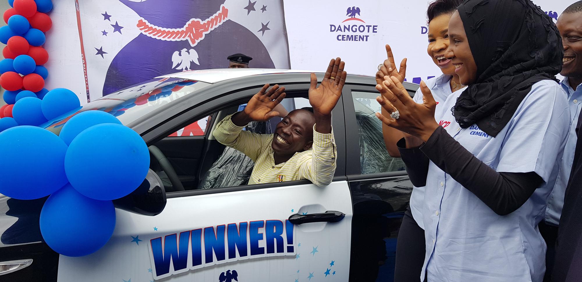 Dangote Cement commences promo to produce 1,000 Nigerian millionaires