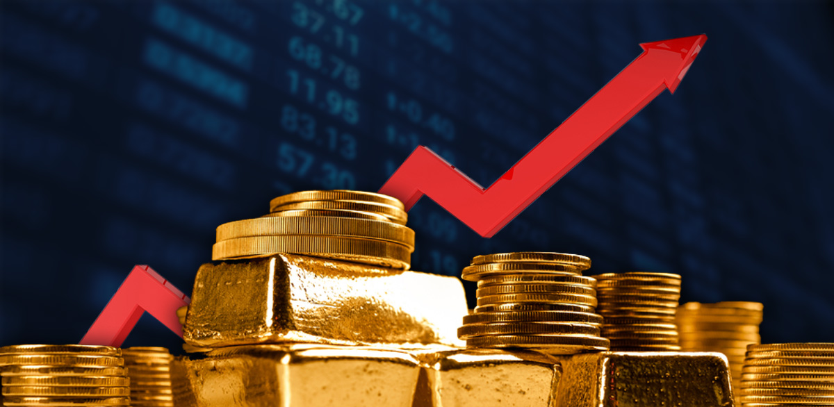 Gold heads for sixth weekly gain