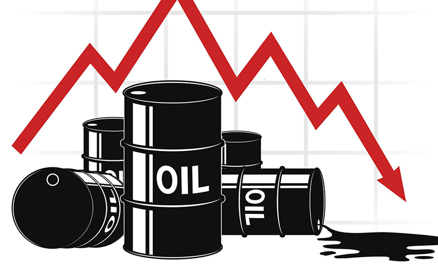 Oil up on weaker dollar, high U.S. inventory