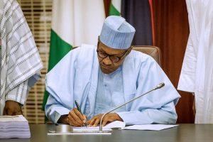 Nigeria's N13.58trn 2021 budget starts January 1 as President Buhari signs bill
