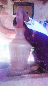 Business, entrepreneurship in the beautiful art of ceramic