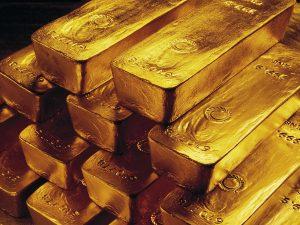 Gold gains ground amid eased dollar, US stimulus nod