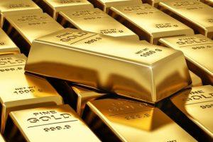 Gold edges higher over softened dollar, U.S yields