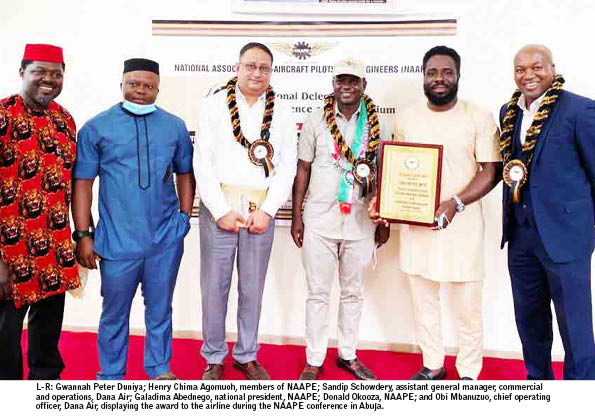 Dana Air's seamless booking, competitive fares strategy leads Nigeria's airlines services industry
