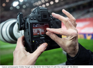 Canon professionals roll out vital tips on launching a career in sports photography